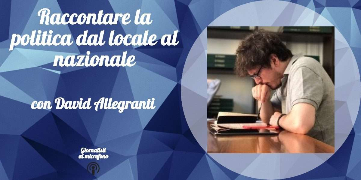 Intervista a David Allegranti