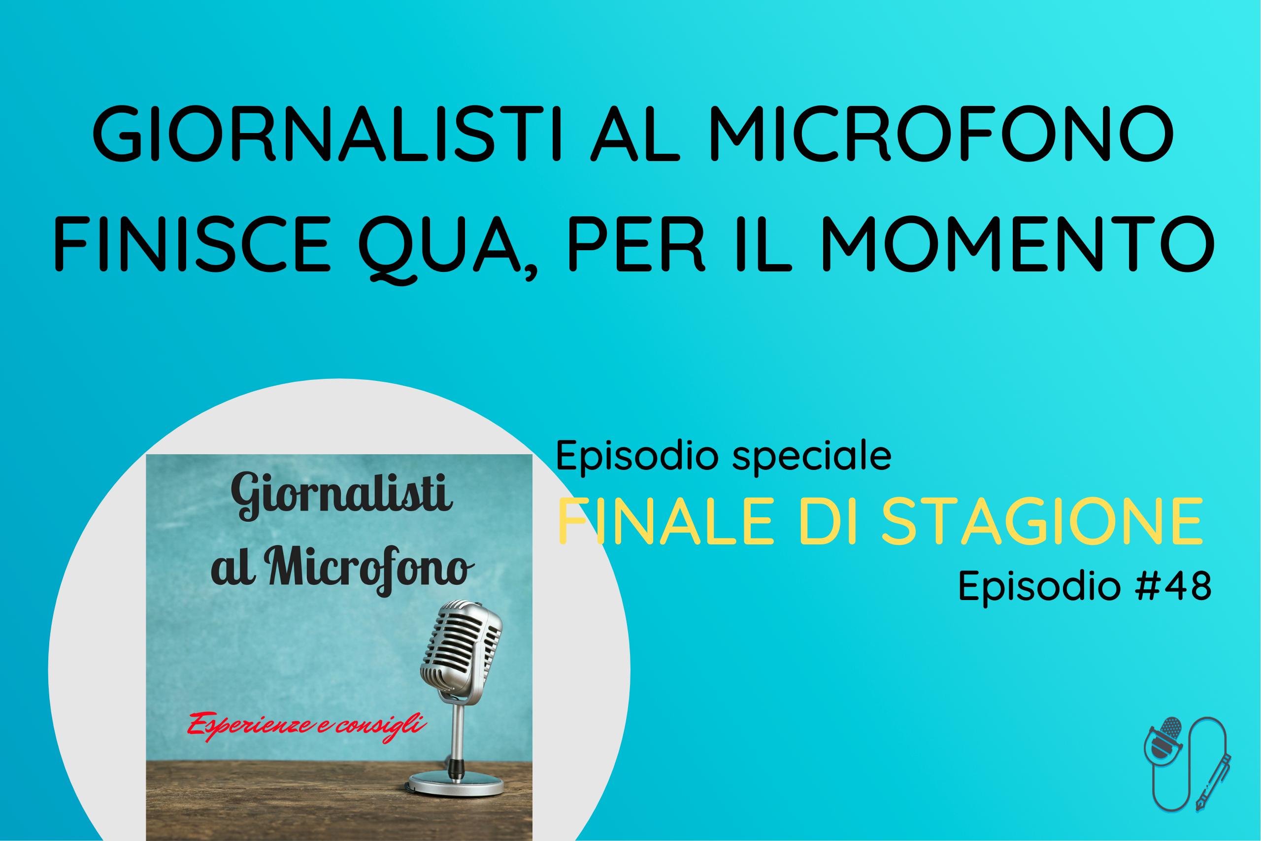 Giornalisti al Microfono - prima stagione
