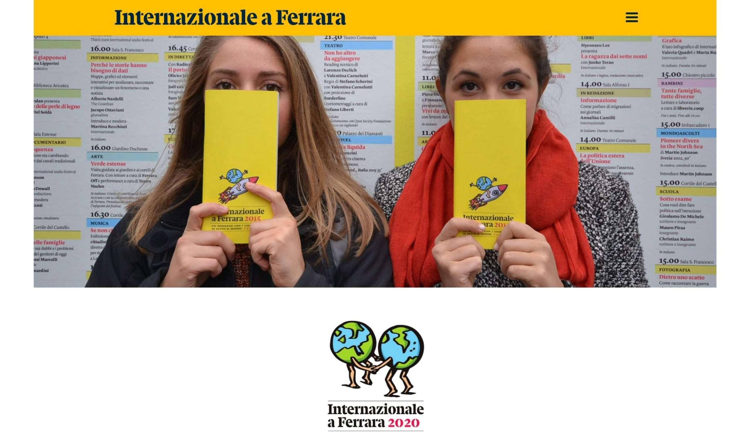 Internazionale a Ferrara 2020