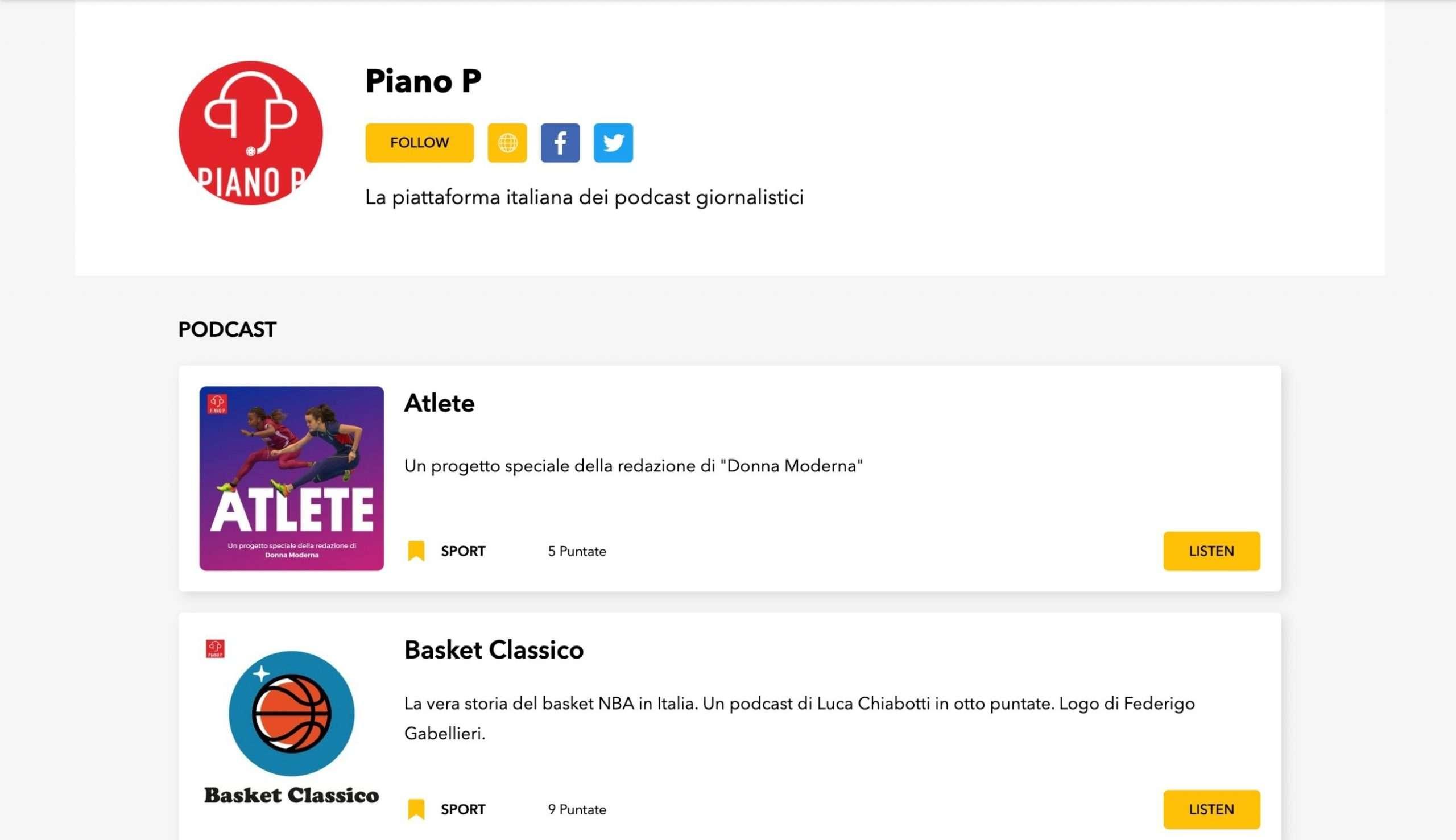Piano P