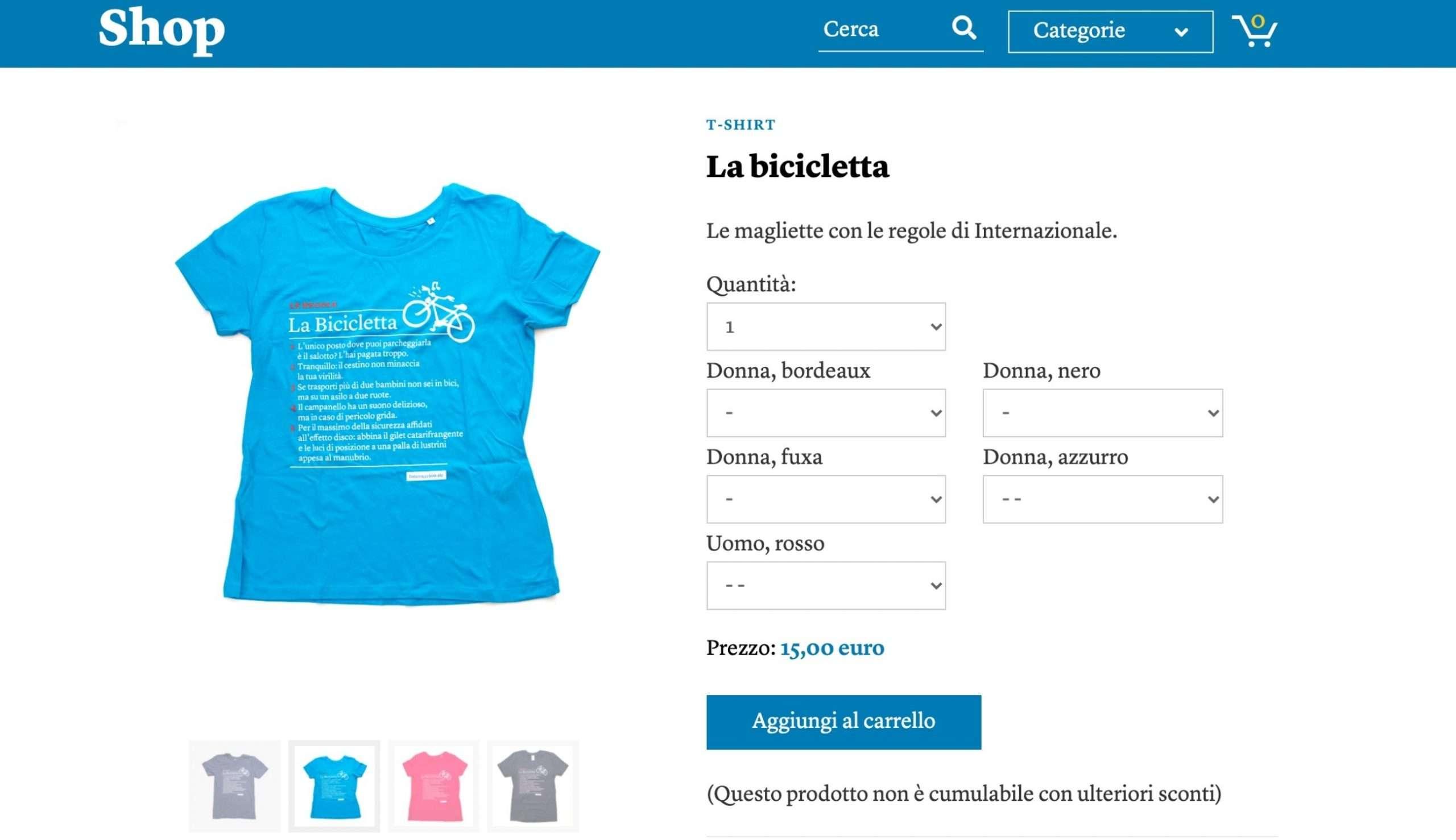 Shop - Internazionale - modelli di business